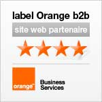 Label Orange b2b site web partenaire