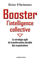 Booster l'intelligence collective, couverture du livre