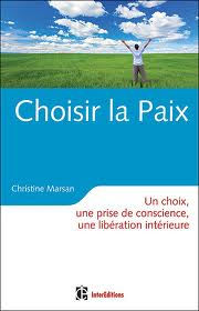 choisir la paix, couverture du livre