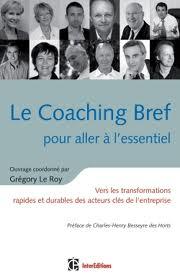 Le Coaching Bref, couverture du livre