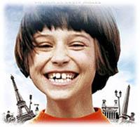 zazie dans le metro, image tirée de la pochette du DVD du film de Louis Malle