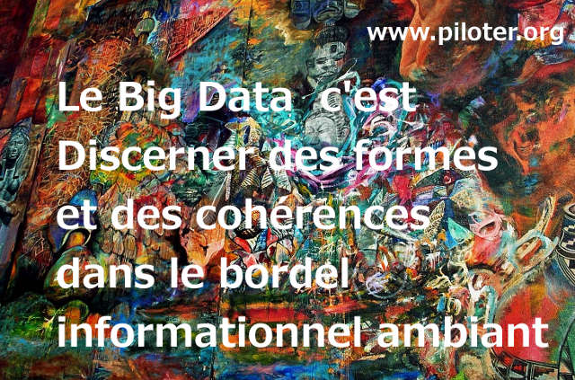 Une definition personnelle du big data