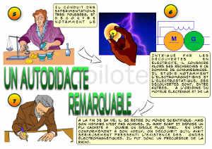 Infographie, Vie de Michael Faraday partie 2