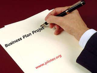 Business plan projet