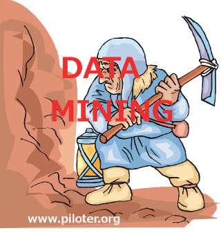 Image d'un mineur pour symboliser le data mining