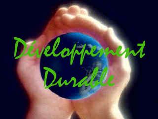Développement Durable, la terre dans ses mains