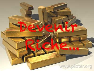 Devenir Riche, tas de lingots