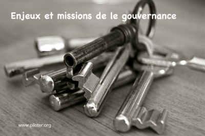 Enjeux et missions de la Gouvernance