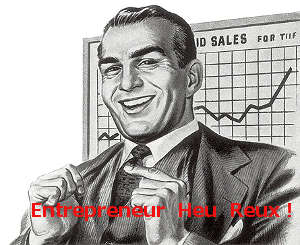humour entrepreneur, chef des ventes