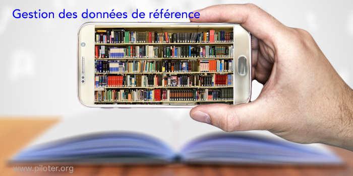 Gestion des données de référence