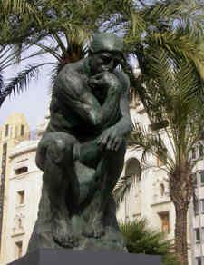 Idées innovation, le penseur de Rodin