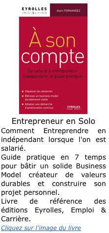 Livre entrepreneur independant