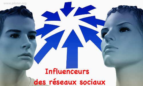 Influenceur des réseaux sociaux
