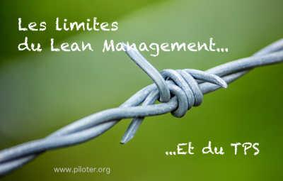 Les limites du lean