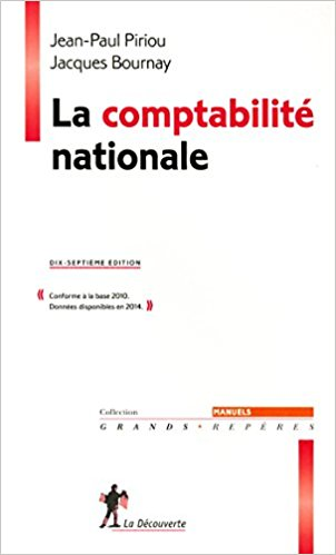 La comptabilit� nationale, Jean-Paul Piriou