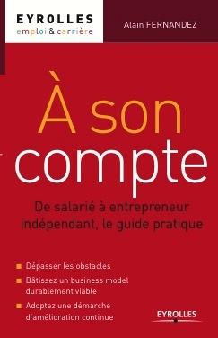 Devenir entrepreneur couverture du livre a son compte