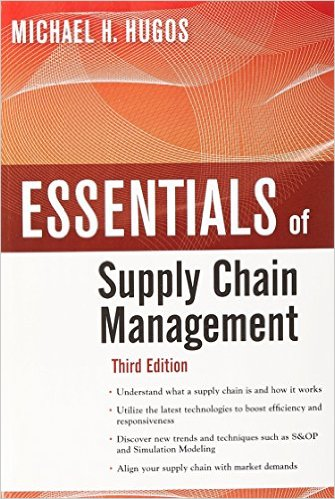 Essentials of supply chain management