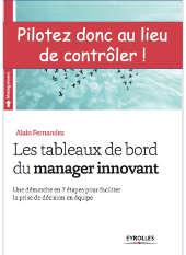 Tableaux de bord du manager innovant, le livre