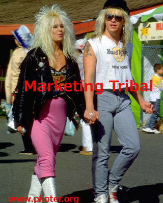 marketing tribal, vintage
