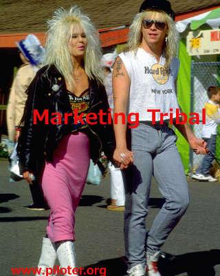 marketing tribal, vintage