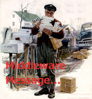 Middleware messages