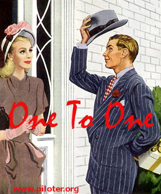 One To One marketing vintage
