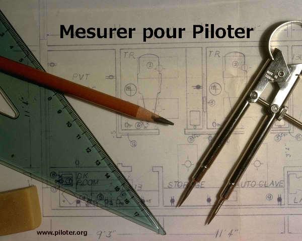 Piloter et Mesurer