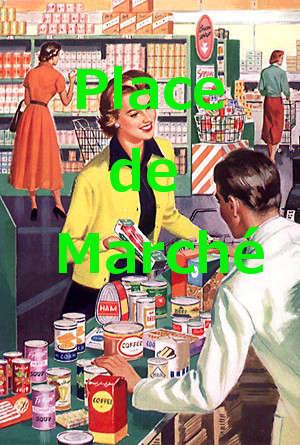 Commerce classique, image vintage