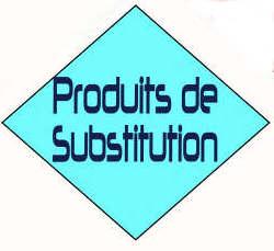 Produits de substitution