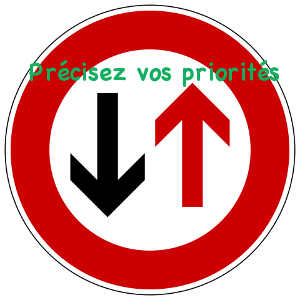 Établir les priorités