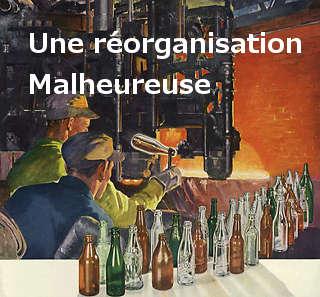 réorganisation - Délocalisation