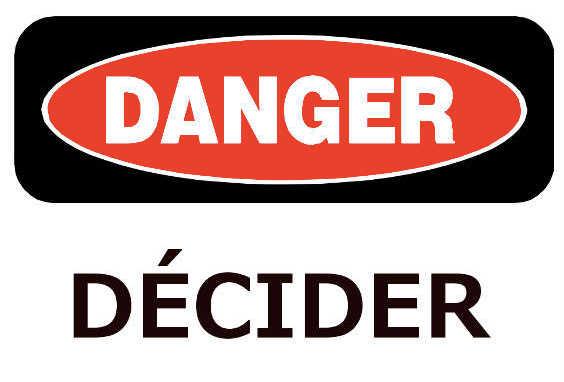 Le risque de la décision