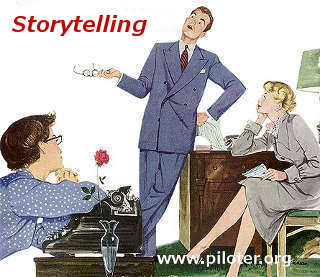 story telling, vintage