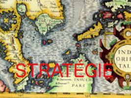 carte de stratégie retro