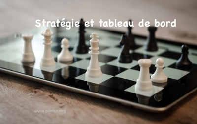 tableau de bord clé de la stratégie