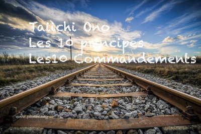 Les 10 principes de Taiichi Ohno