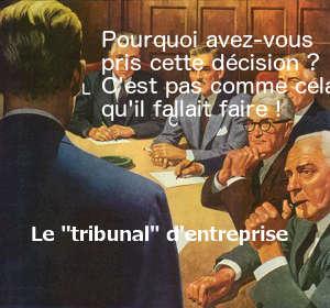 Le tribunal d'entreprise