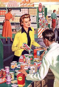 valeur client, image vintage