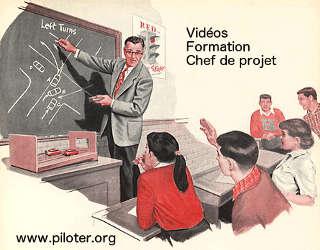 vidéo formation conduite projet