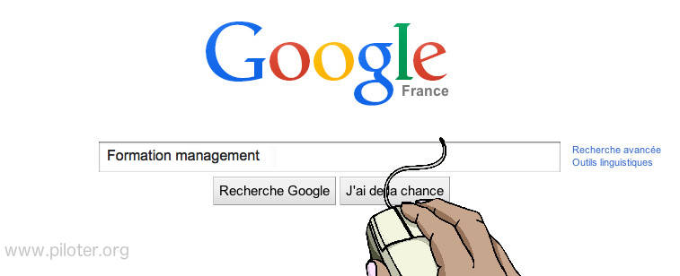 Une recherche sur google