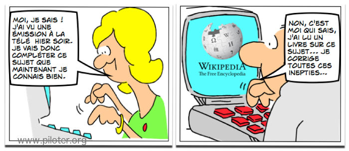 Wikipedia humour partie 1