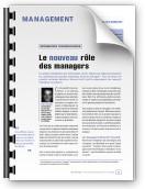 Le nouveau rôle des managers