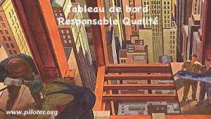 Le tableau de bord du responsable qualité