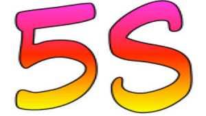 Les 5 cinq S